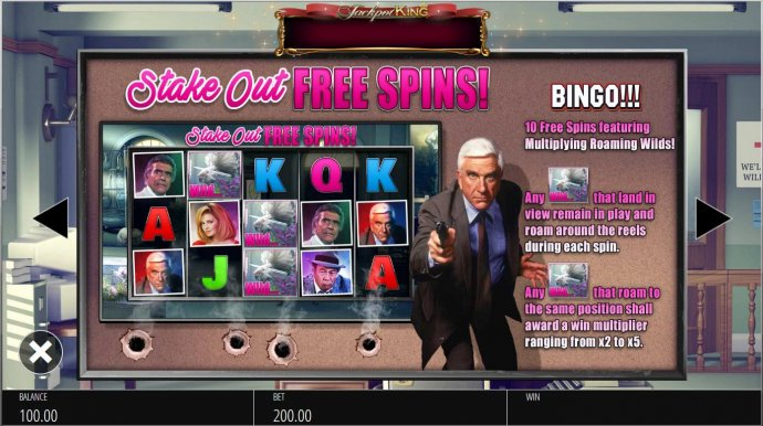 Stake Out Free Spins Feature - No Deposit Casino Guide