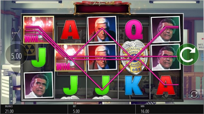 No Deposit Casino Guide - Police Siren Wilds triggers multiple winning paylines.