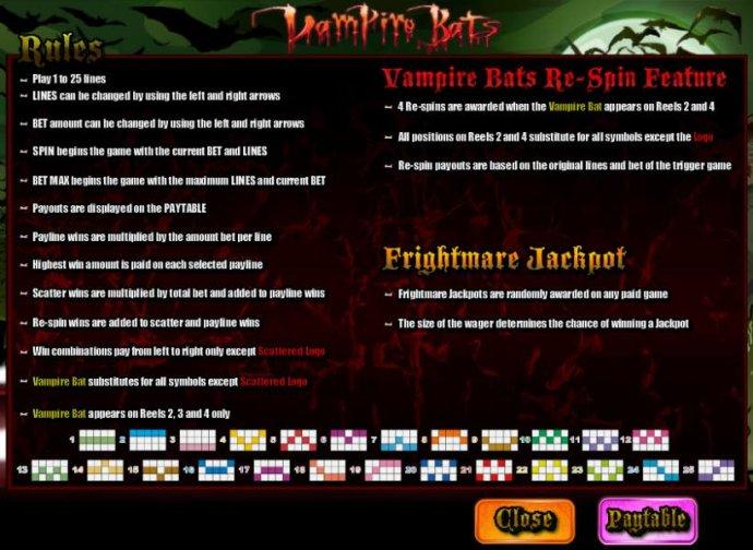 Vampire Bats by No Deposit Casino Guide