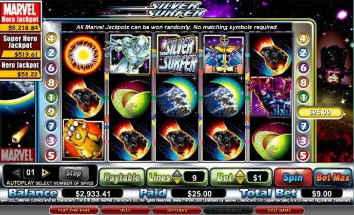 The Silver Surfer by No Deposit Casino Guide