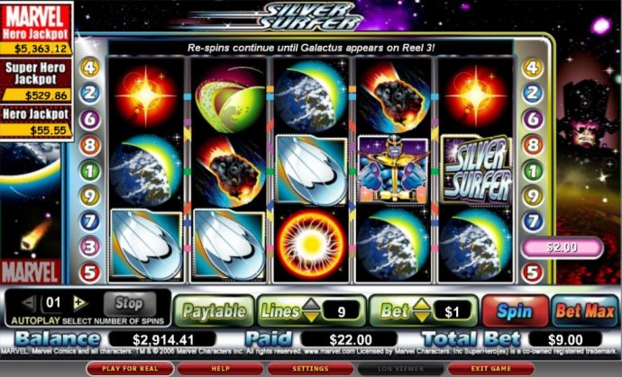 The Silver Surfer screenshot
