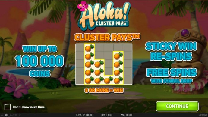 Images of Aloha Cluster Pays