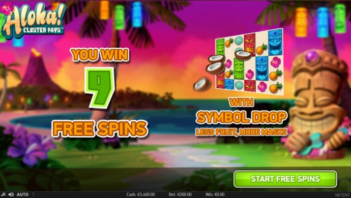 No Deposit Casino Guide image of Aloha Cluster Pays