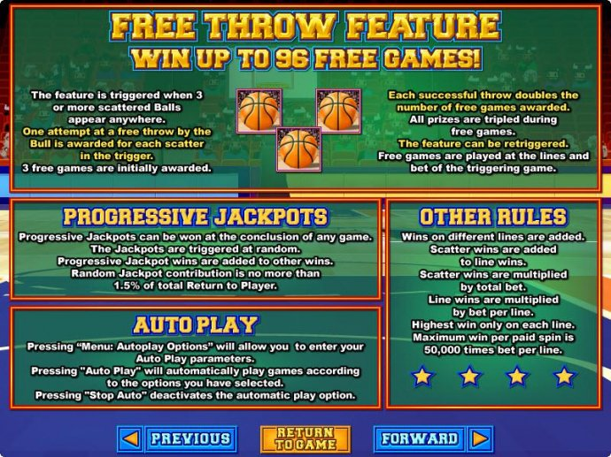 No Deposit Casino Guide image of Basketbull
