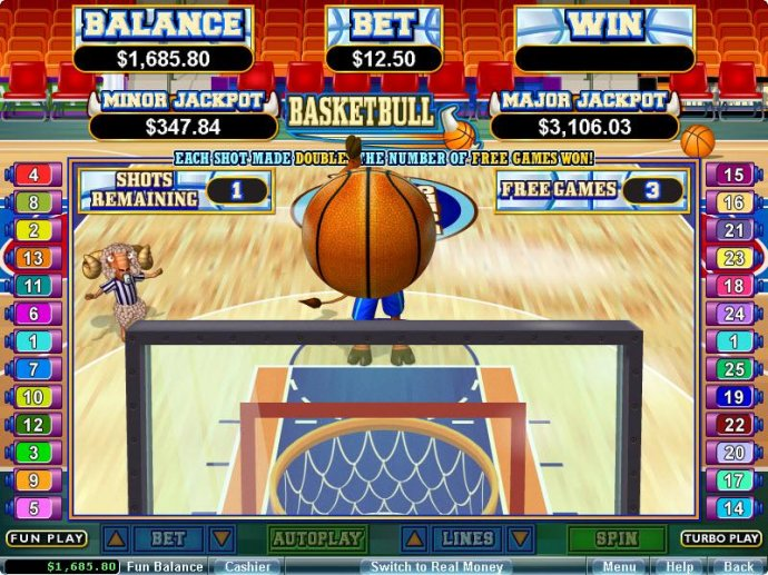 Basketbull screenshot