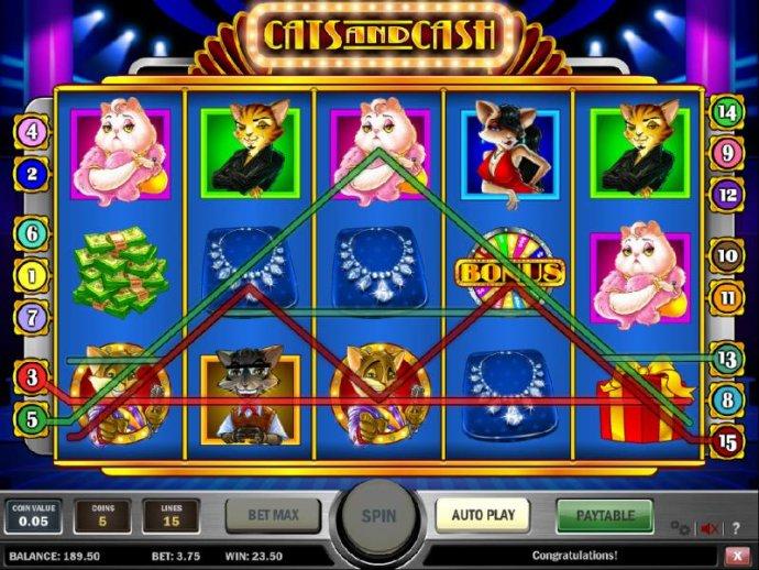 Cats and Cash screenshot