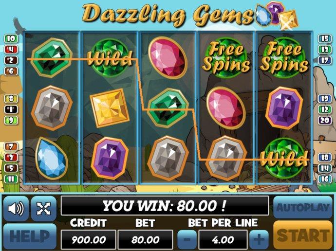 Dazzling Gems by No Deposit Casino Guide
