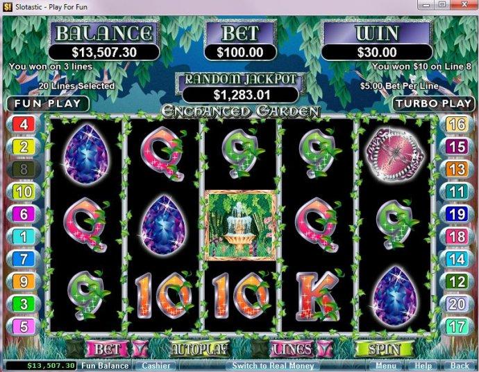 Enchanted Garden by No Deposit Casino Guide