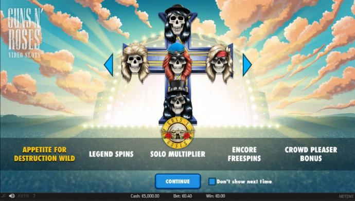Guns N' Roses by No Deposit Casino Guide
