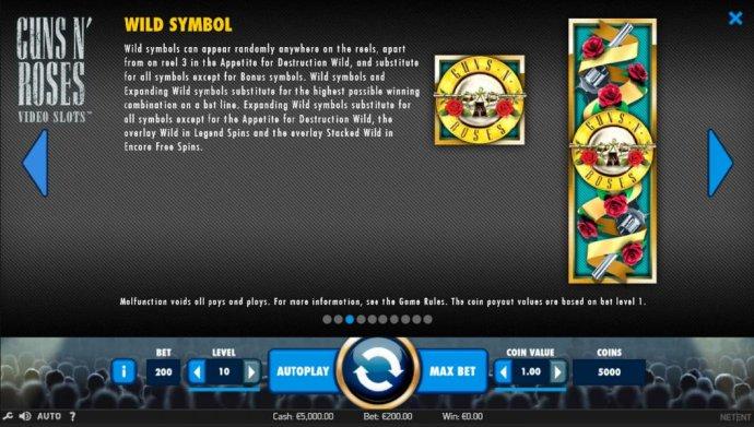 No Deposit Casino Guide image of Guns N' Roses