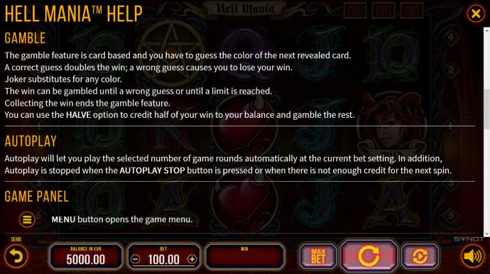 Double Up Gamble Feature Rules - No Deposit Casino Guide