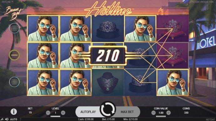 No Deposit Casino Guide image of Hotline