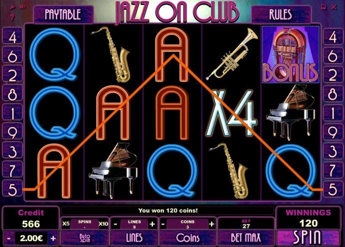 No Deposit Casino Guide image of Jazz On Club