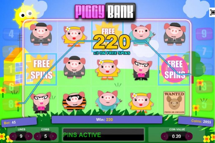 Piggy Bank by No Deposit Casino Guide
