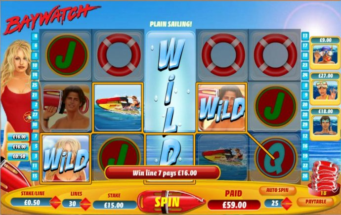 a $59 jackpot triggered by expanded wild by No Deposit Casino Guide