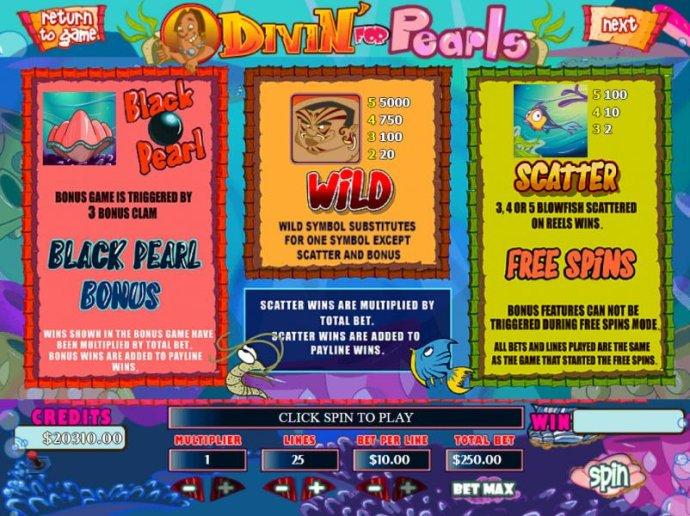 Divin' For Pearls screenshot