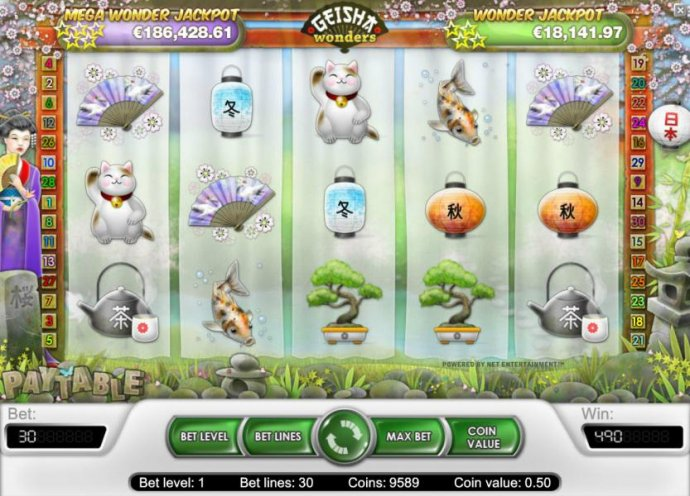 Geisha Wonders by No Deposit Casino Guide