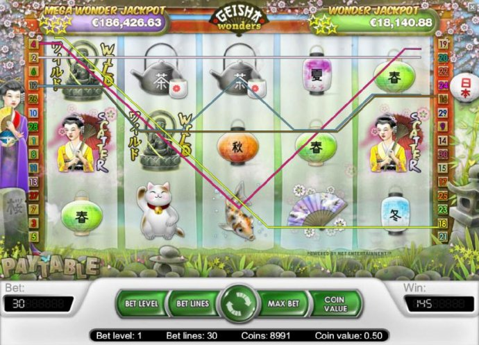 No Deposit Casino Guide image of Geisha Wonders