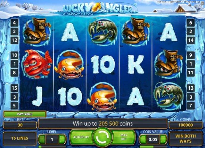 Lucky Angler screenshot