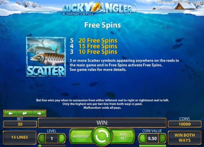 No Deposit Casino Guide image of Lucky Angler