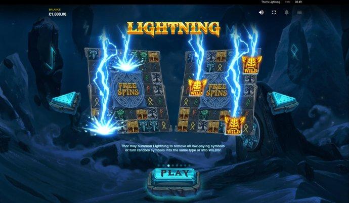 Thor's Lightning screenshot