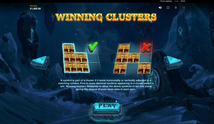 Winning Clusters - No Deposit Casino Guide