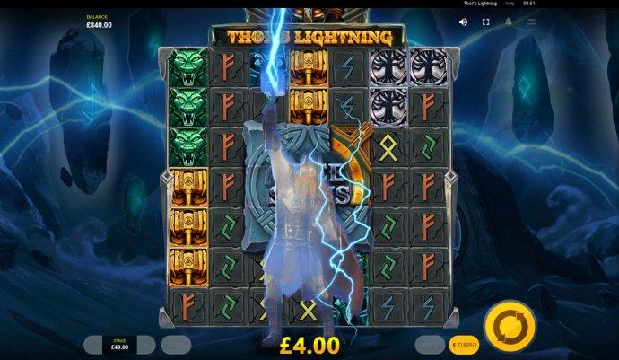 No Deposit Casino Guide image of Thor's Lightning