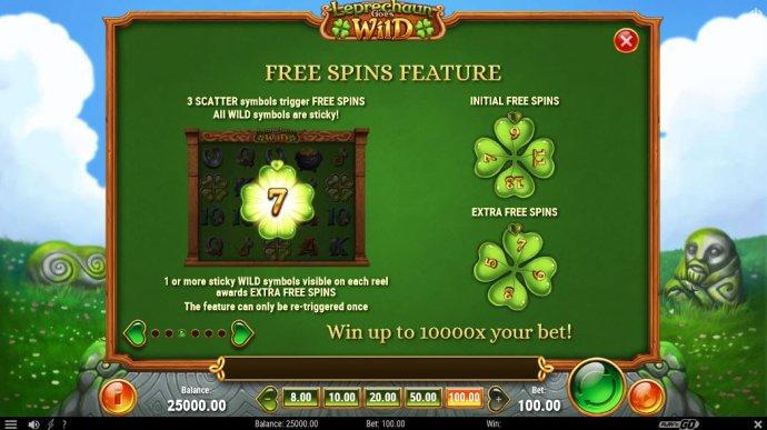 No Deposit Casino Guide image of Leprechaun Goes Wild