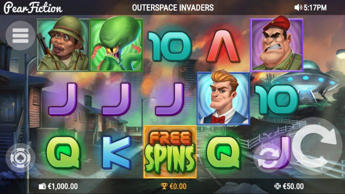Outerspace Invaders by No Deposit Casino Guide