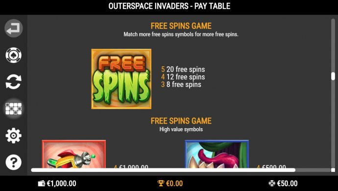 Images of Outerspace Invaders