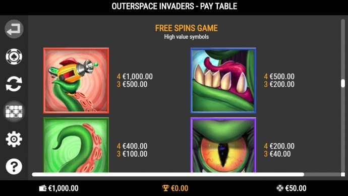 Outerspace Invaders screenshot