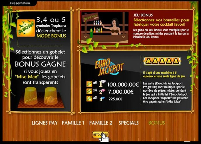 Tropicania by No Deposit Casino Guide