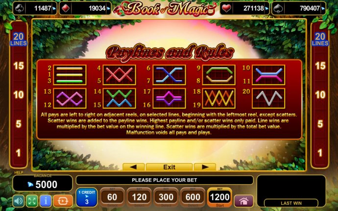 No Deposit Casino Guide image of Book of Magic