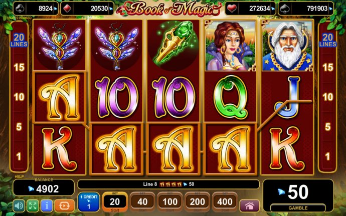 Book of Magic by No Deposit Casino Guide