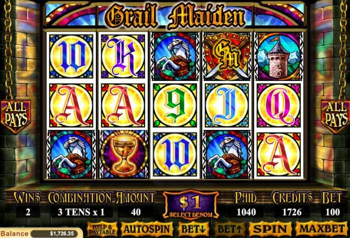 Grail Maiden screenshot