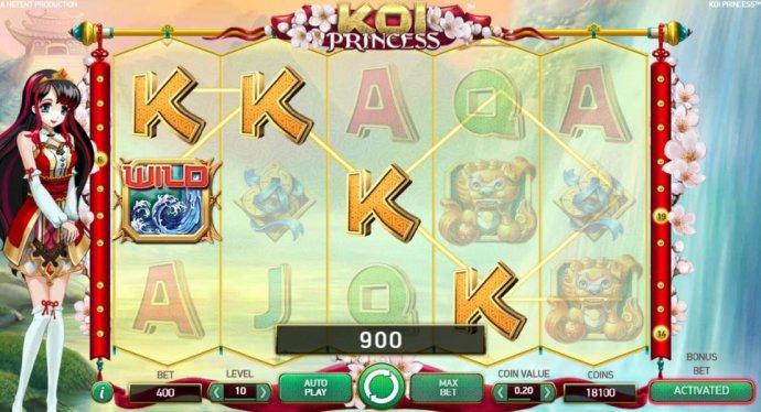 Koi Princess screenshot