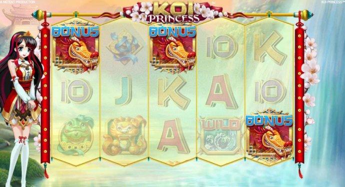 Bonus feature triggered after nudge feature reveals 3rd golden dragon bonus symbol - No Deposit Casino Guide