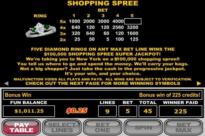 Shopping Spree screenshot
