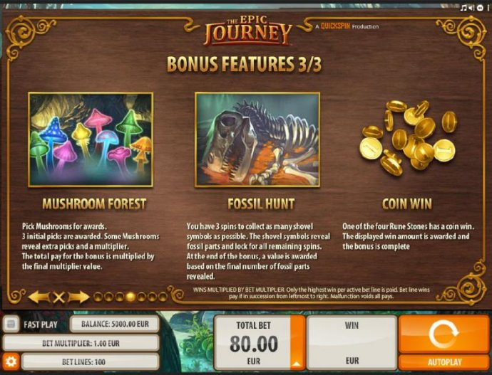 No Deposit Casino Guide image of The Epic Journey
