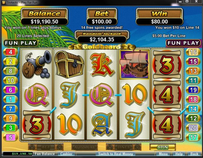 No Deposit Casino Guide image of Goldbeard