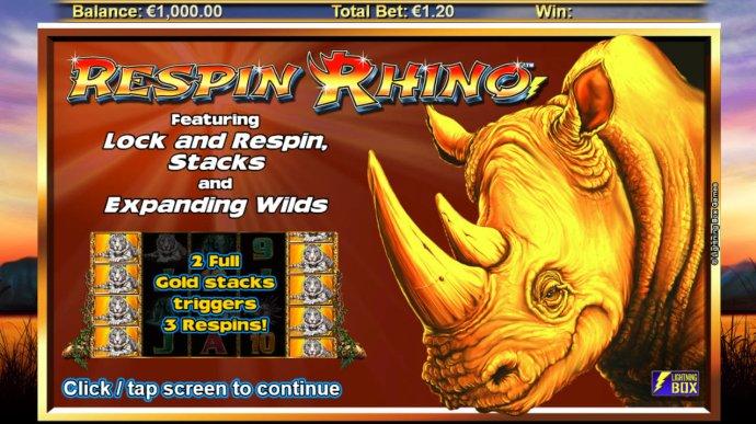 Respin Rhino screenshot