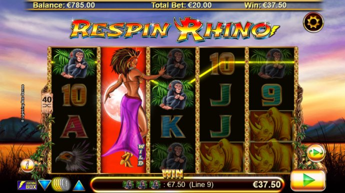 Respin Rhino by No Deposit Casino Guide
