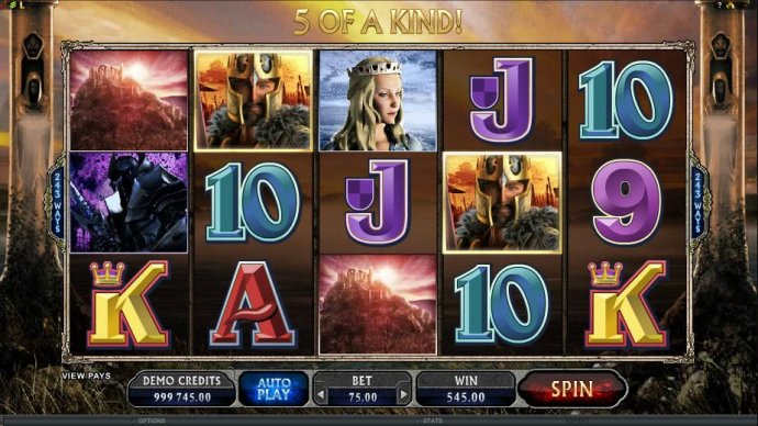 No Deposit Casino Guide - a $545 big win triggered by a five of a kind