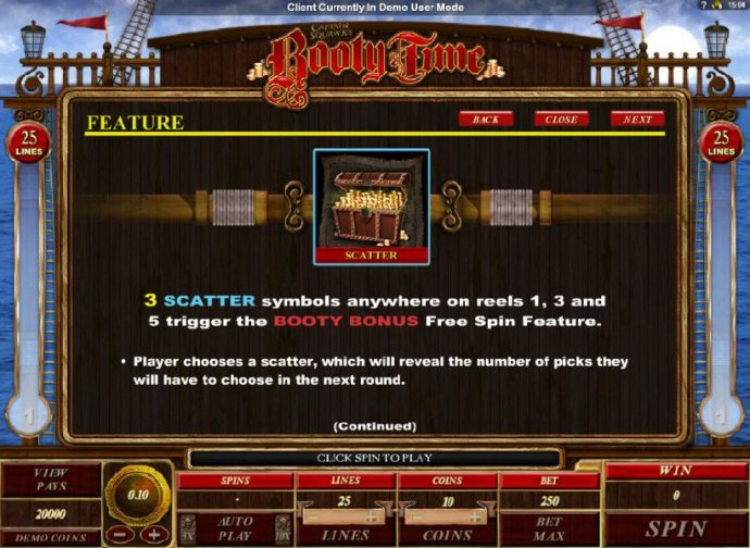 Booty Time by No Deposit Casino Guide