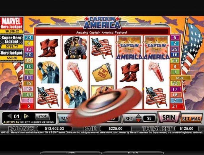 Captain America by No Deposit Casino Guide
