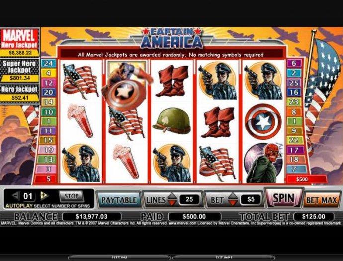 Captain America screenshot