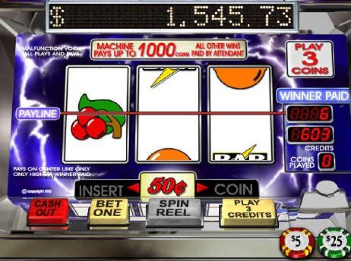 No Deposit Casino Guide image of Lucky Lightnin'