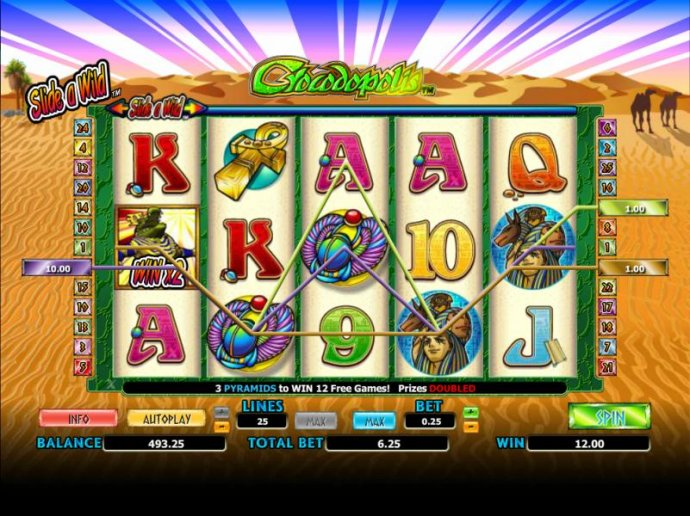 No Deposit Casino Guide - here is an example of a multiline jackpot