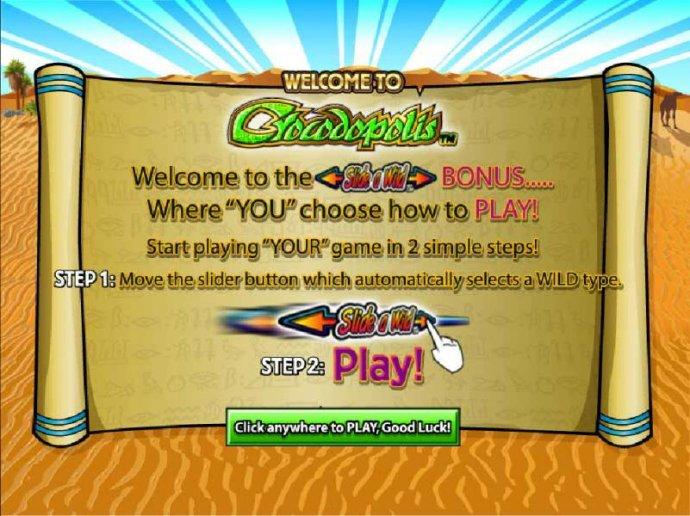 Crocodopolis screenshot