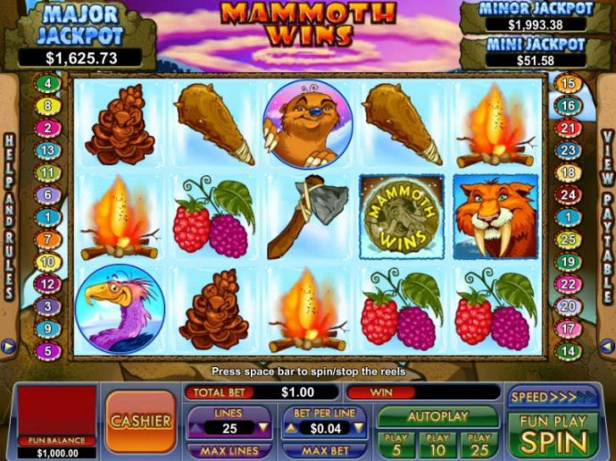 Images of Mammoth Wins
